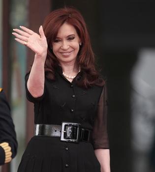 Cristina Fernández sufre un