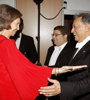 La reina Sofía disfruta del concierto inaugural del Festival del Música y Danza de Granada