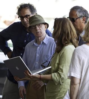 Woody Allen busca los mejores lugares de Roma donde filmar a Penélope Cruz
