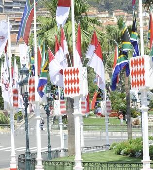 Las calles de Mónaco ya están preparadas para la Boda Real