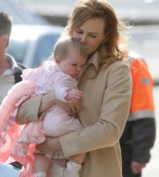 Fin de las vacaciones para Nicole Kidman y su familia