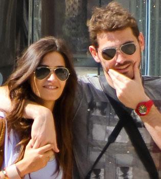 Sara Carbonero desmiente su boda con Iker Casillas