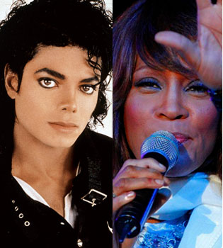 Michael Jackson y Whitney Houston tuvieron un romance