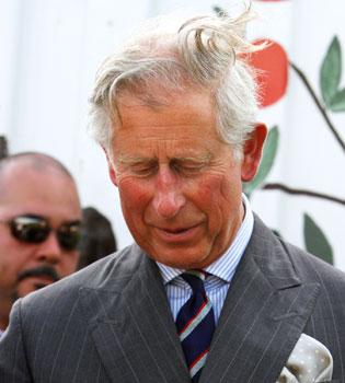 El Príncipe Carlos se tapa los ojos cuando sale sexo en el cine