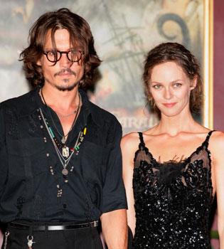 Johnny Depp y Vanessa Paradis: una larga historia de amor sin final feliz