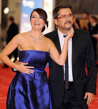Buenafuente y Silvia Abril: de compañeros de trabajo a padres de un niño