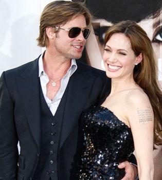 Angelina Jolie y Brad Pitt: una boda a la europea