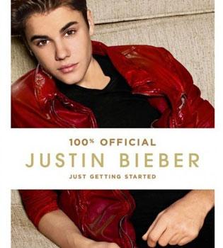 El libro de Justin Bieber: todo a punto para otro éxito de ventas