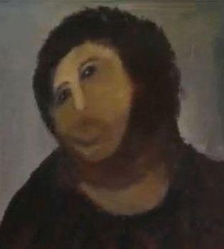 El Ecce Homo restaurado, icono pop de nuestra época