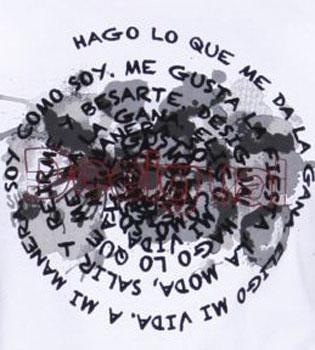 La metedura de pata de Desigual en una de sus camisetas