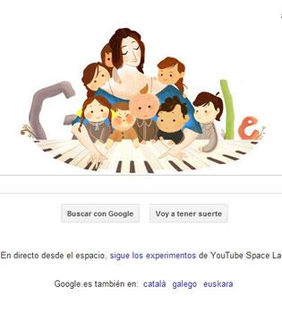 Google y el papel de la mujer en la música: el doodle de Clara Schumann
