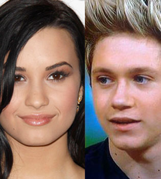 Demi Lovato y Niall Horan, de One Direction, juntos
