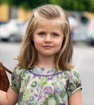 La Infanta Leonor: el 7º cumpleaños de una futura reina
