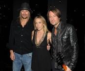Kid Rock, Sheryl Crow y Keith Urban
