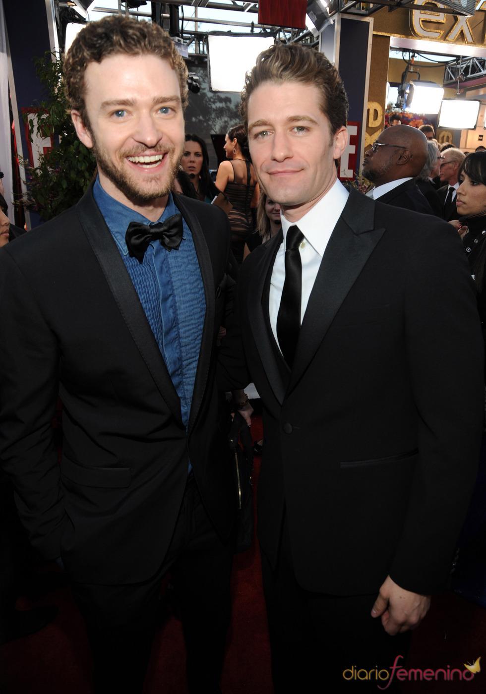 Justin Timberlake y Matthew Morrison