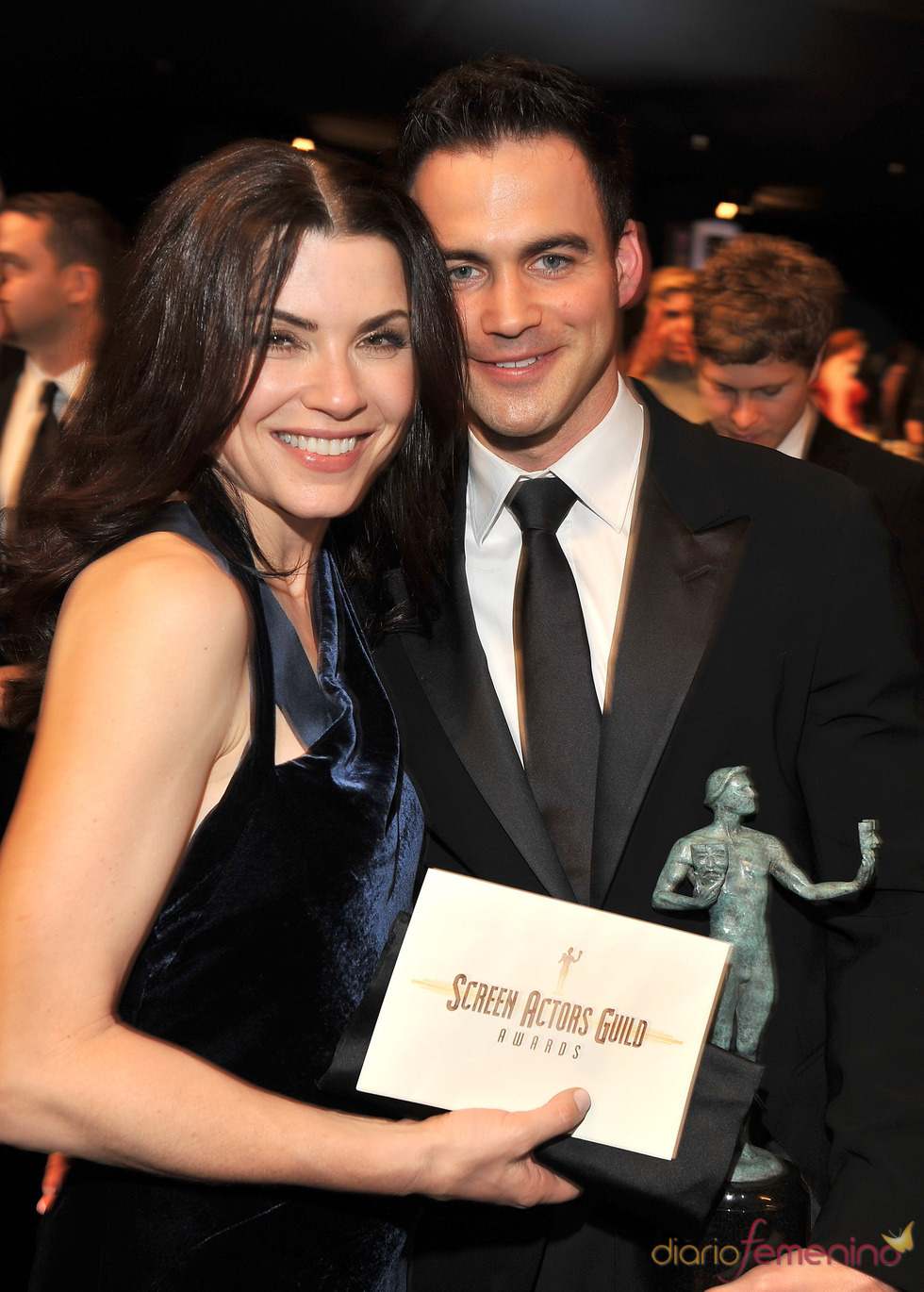 Julianna Margulies y su marido