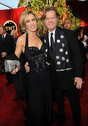 Felicity Huffman junto a su marido