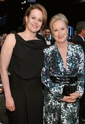 Sigourney Weaver y Meryl Streep