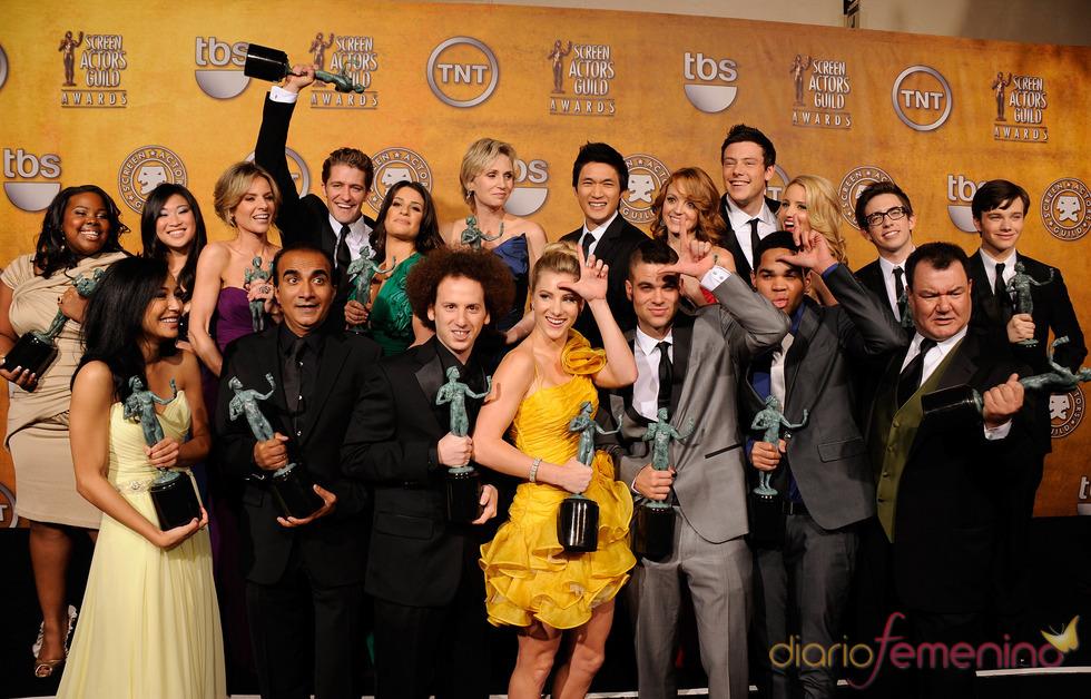 El reparto de 'Glee'