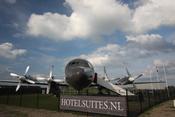 Vliegtuigsuite, avión convertido en suite de lujo en Teuge