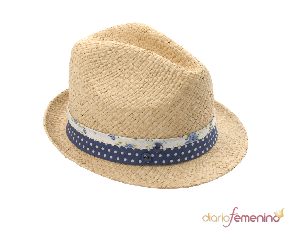 Ditsy Band Trilby