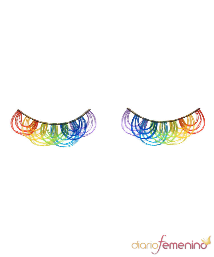 Pestañas falsas - Modelo Lucent Rainbow