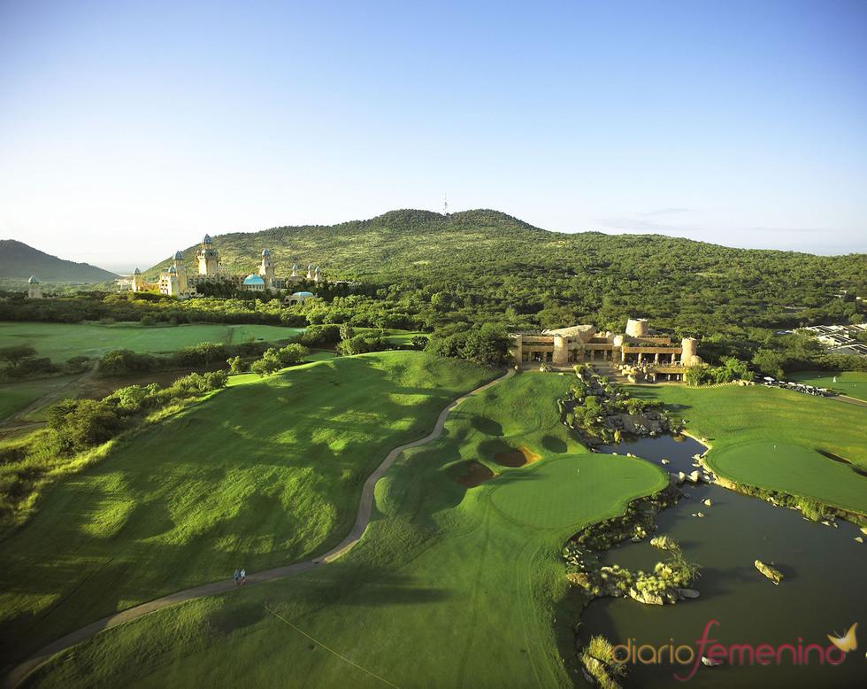 Dos campos de golf