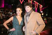 Ashton Kutcher en el estreno de Historias de San Valentín