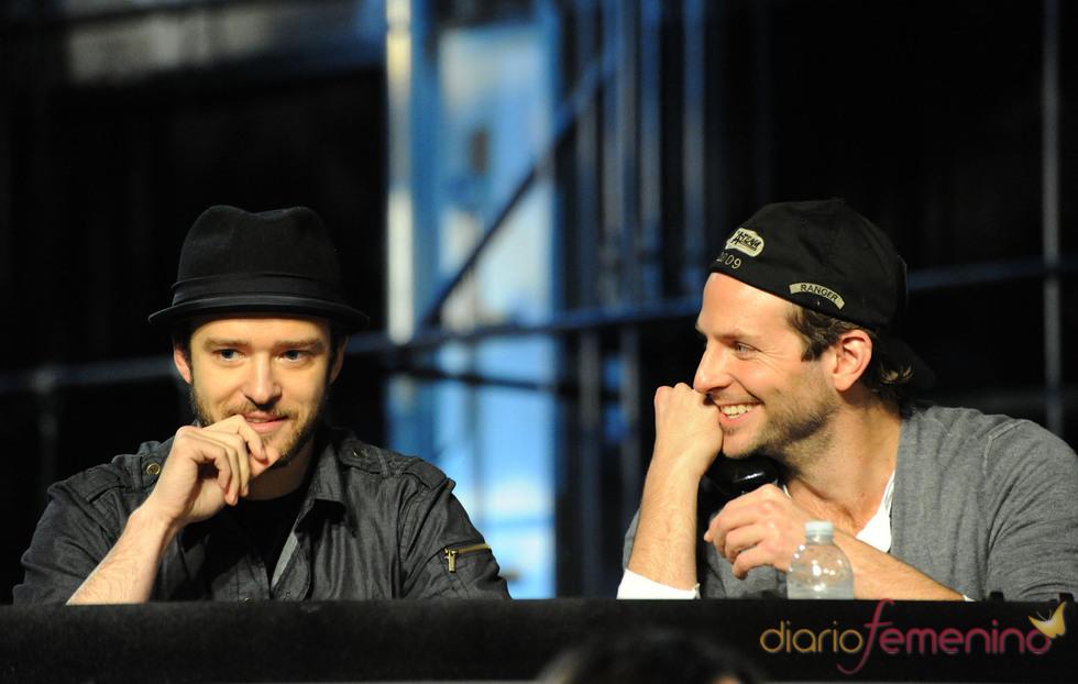 Justin Timberlake y Bradley Cooper