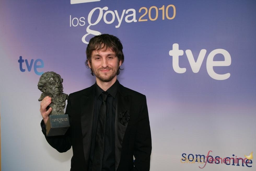 Raúl Arévalo en los Goya 2010