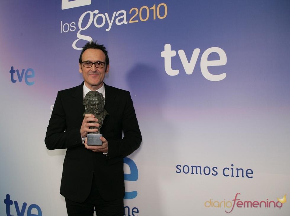 Alberto Iglesias en los Goya 2010