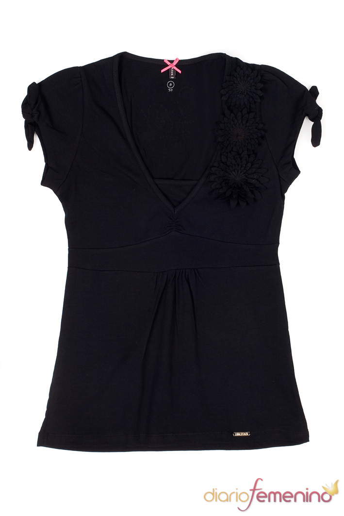 Look negro: camiseta de Lolitas&Lolos