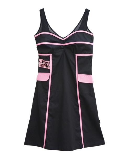 Traje De Baño Estilo Pin Up:Look negro: vestido estilo pin up de Titis Clothing – Apuesta por el