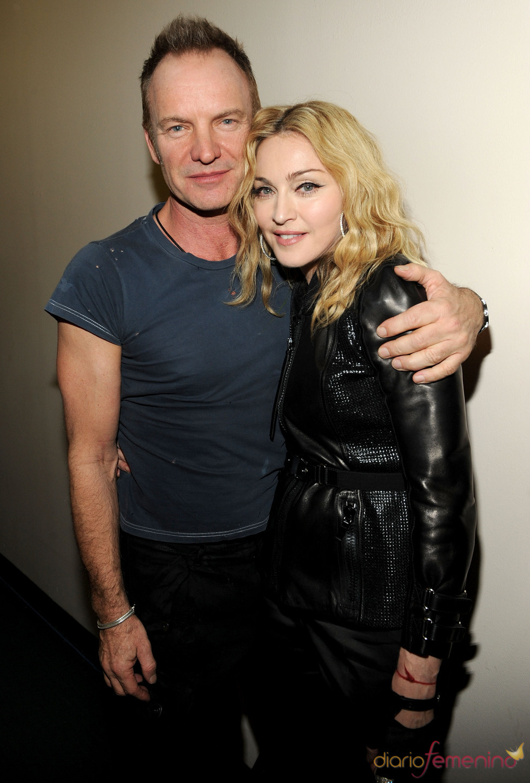 Sting y Madonna