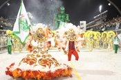 Carnaval Brasil 2010: Escuela  Mancha verde