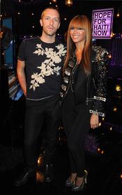 Chris Martin y Beyoncé