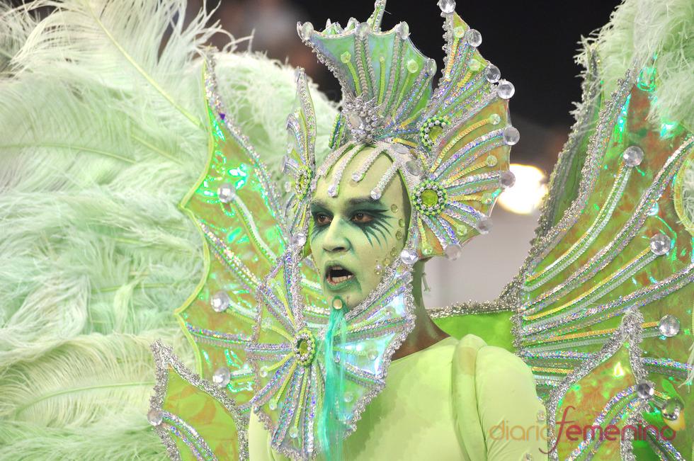 Carnaval Brasil 2010: Escuela X-9, de otro planeta