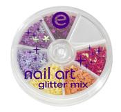 Essence: nail art mix de purpurina