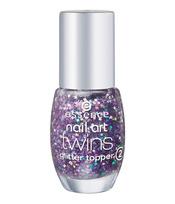 Essence: nail art twins, acabado brillante