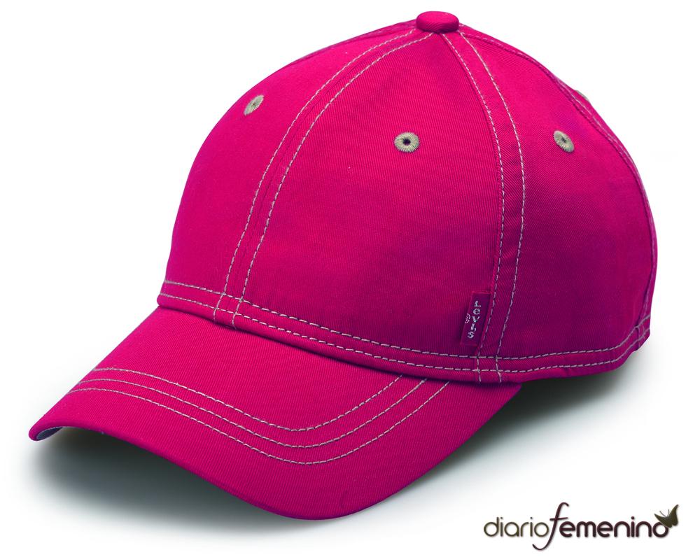 Levi's; gorra vaquera roja