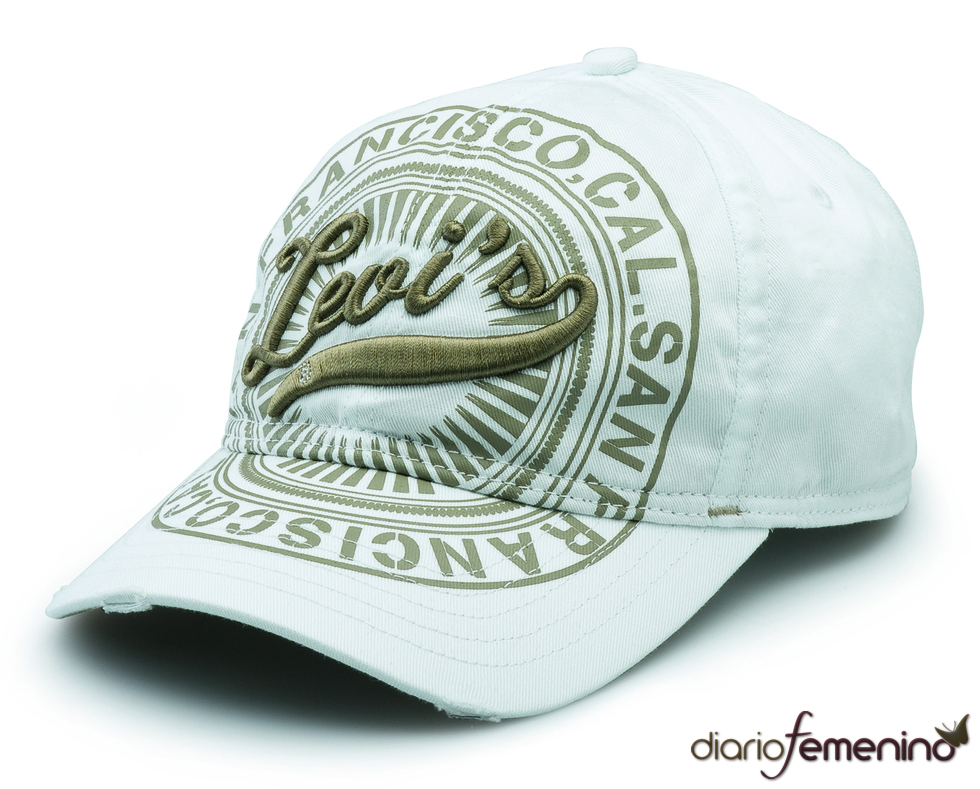 Levi's; gorra blanca San Francisco
