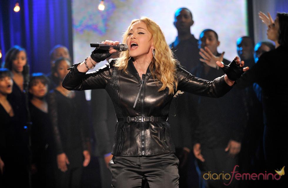 Madonna en acción