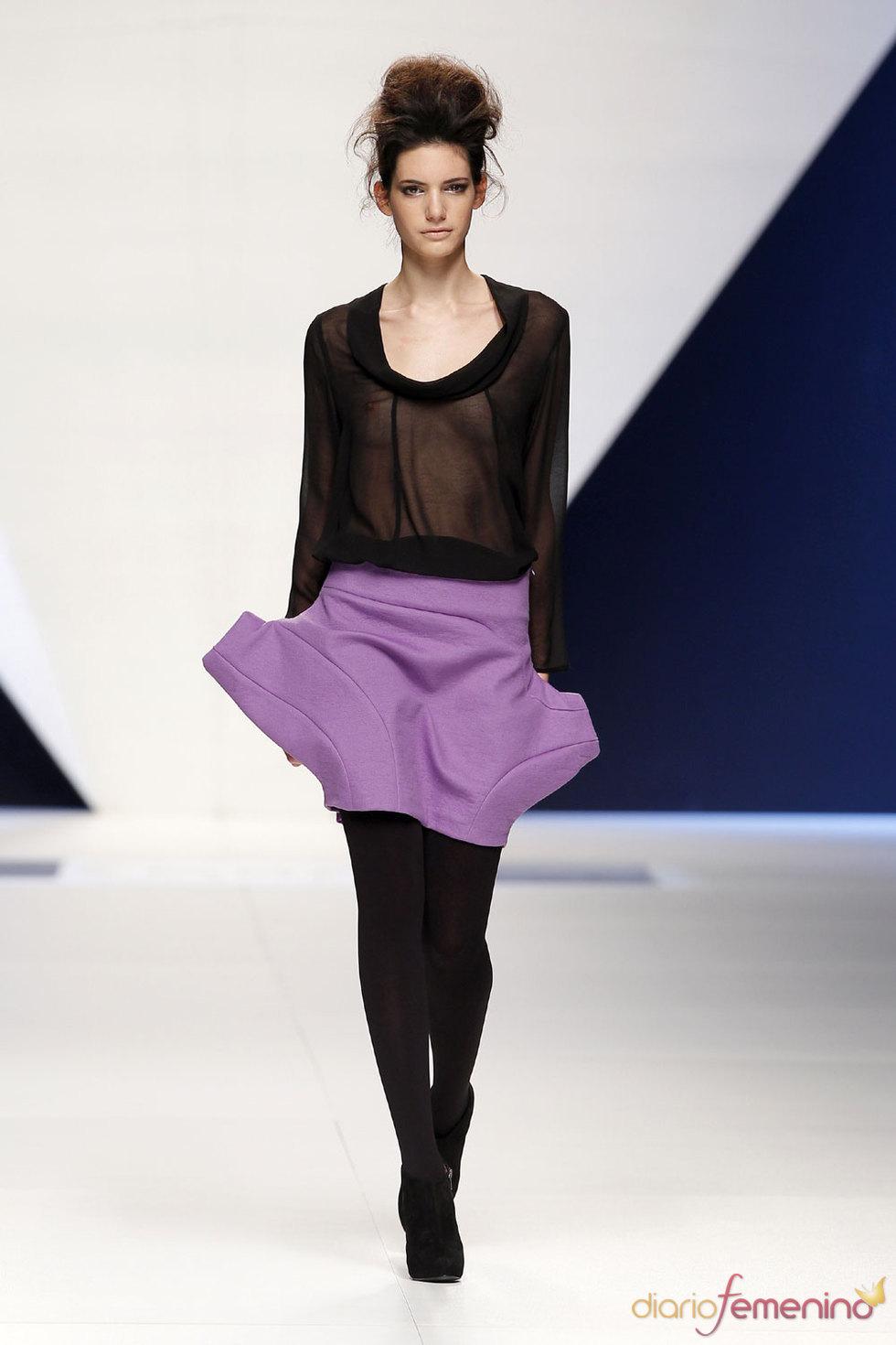 Pasarela Cibeles Madrid: Modelos de SARA COLEMAN