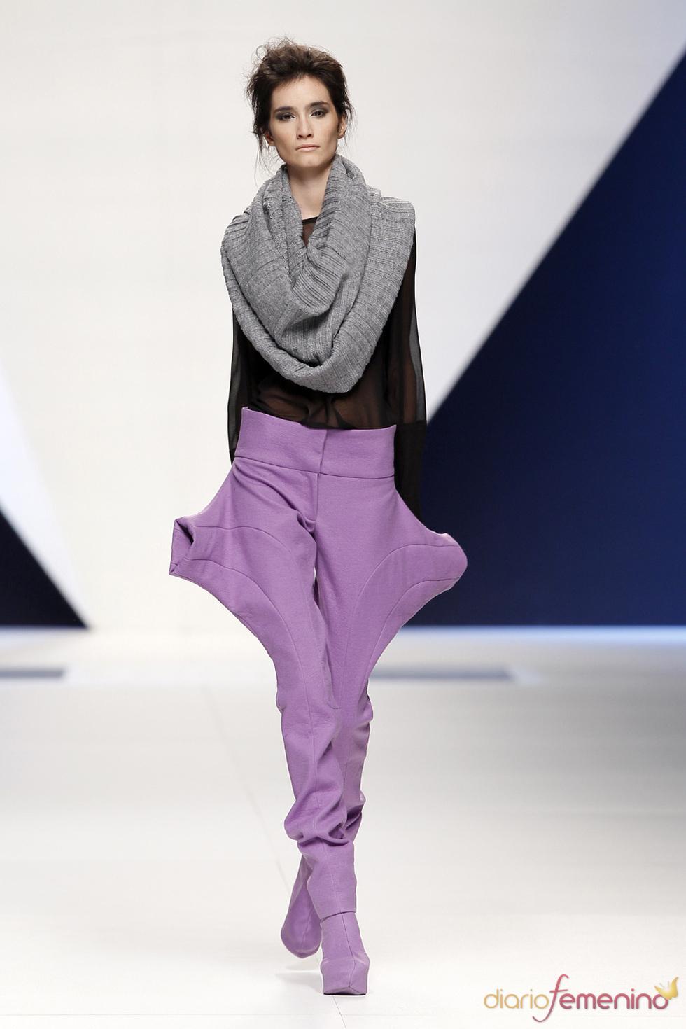Pasarela Cibeles 2010. Nuevo modelo de Sara Coleman