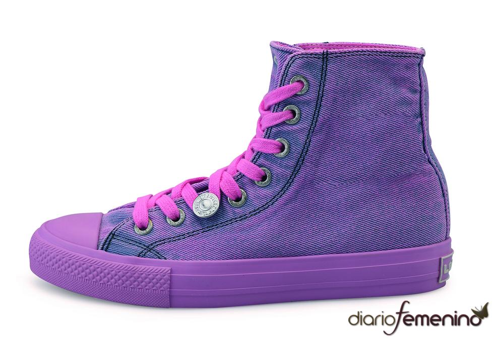 Levi's: zapatillas vaqueras rosas