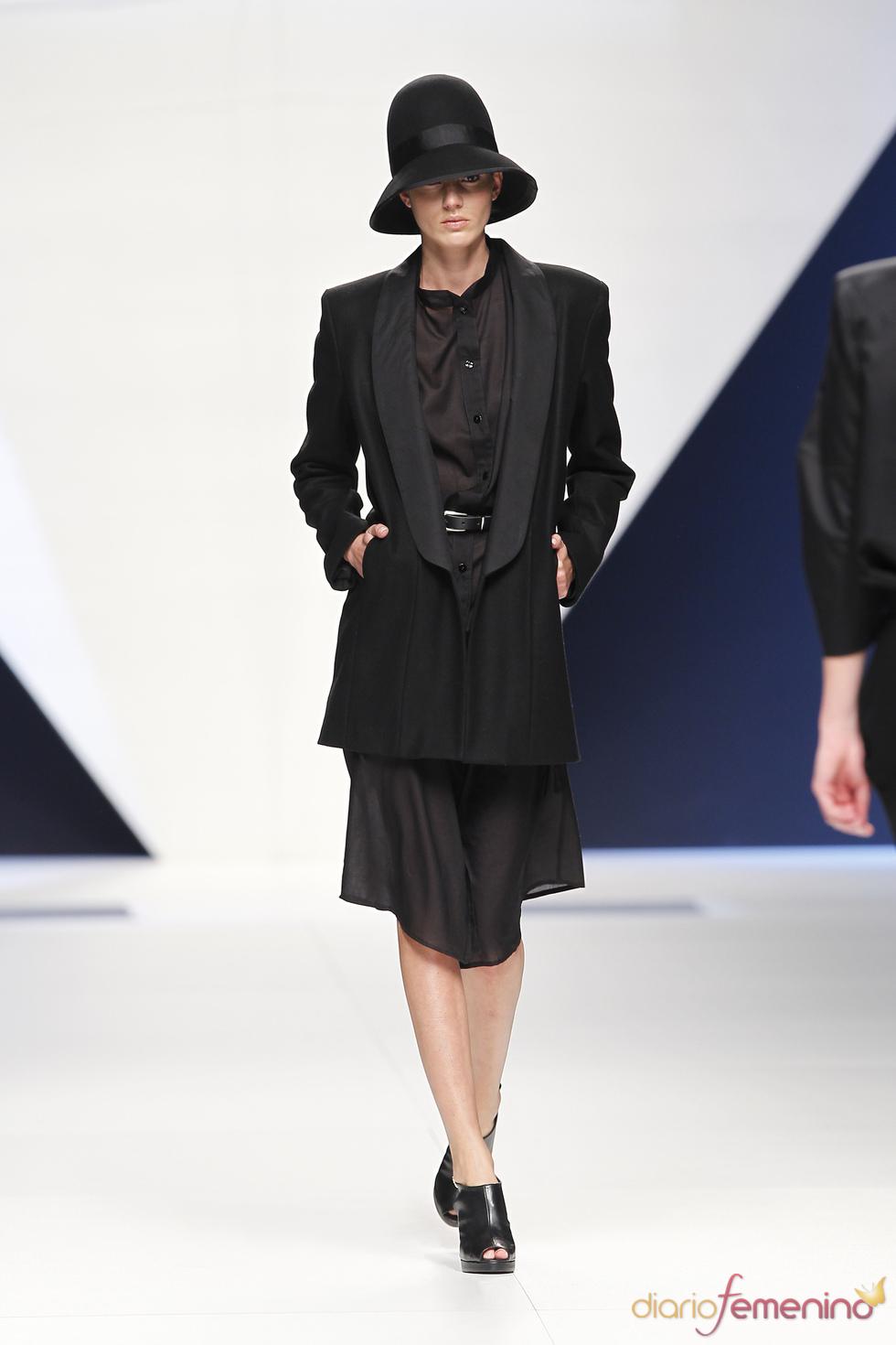 GEORGINA ORDINAS en la Semana de la Moda de Madrid 2010
