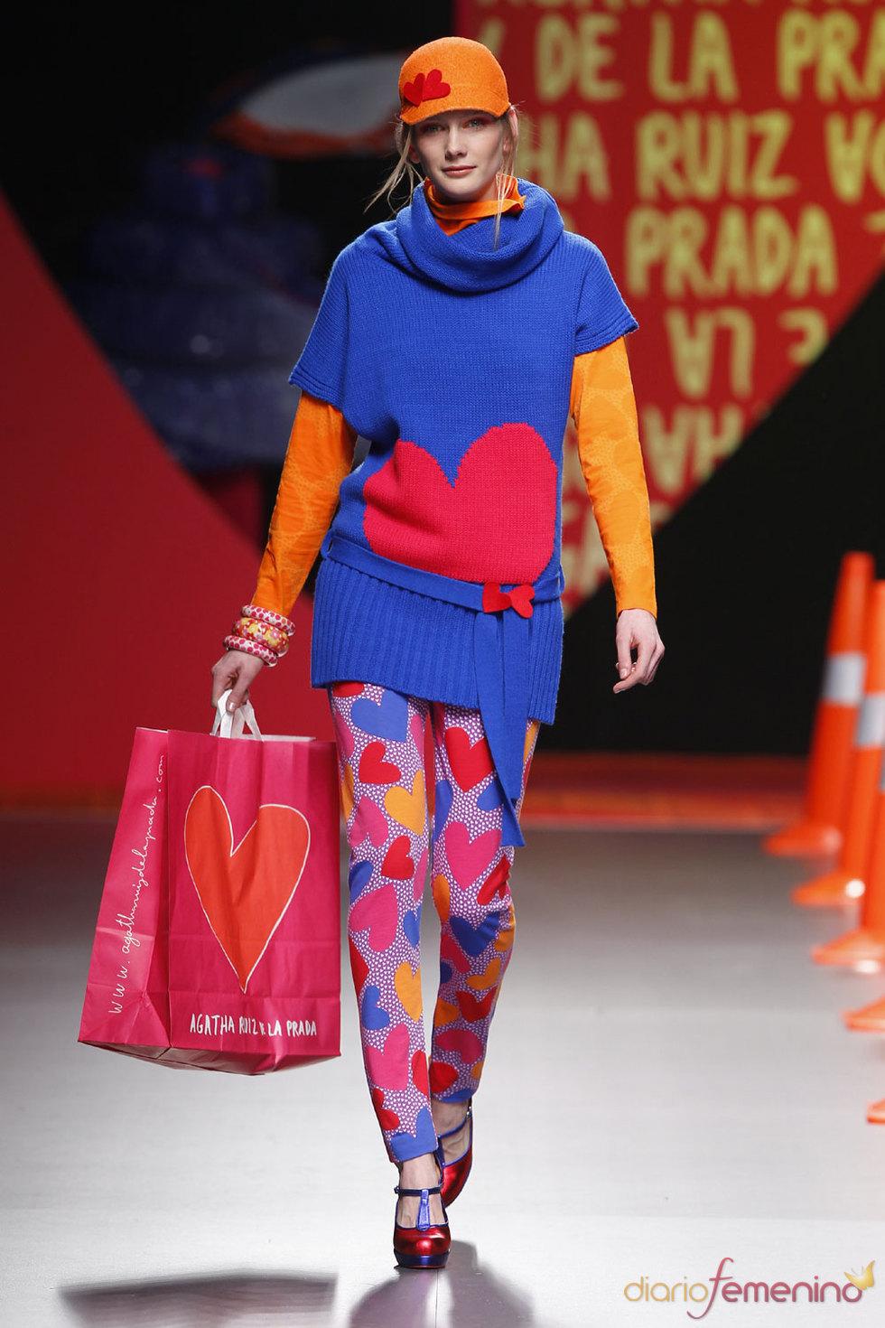 Agatha Ruíz de la Prada: La diseñadora más comercial en Cibeles