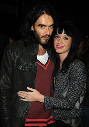 Russell Brand y Katy Perry