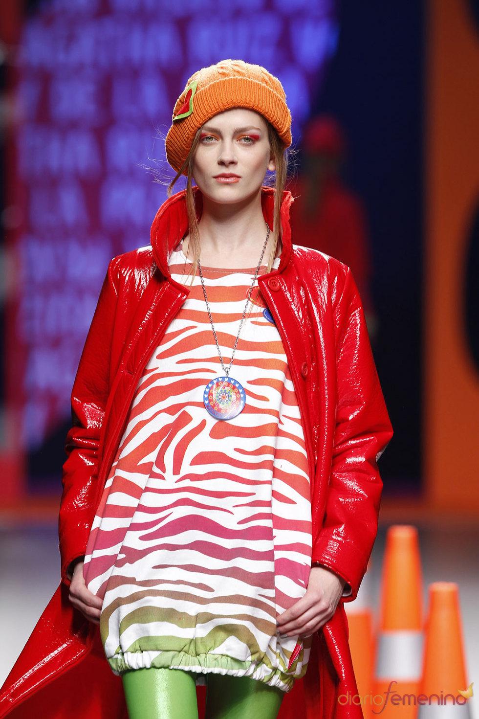 El estilo de Ágatha Ruiz de la Prada en Cibeles 2010