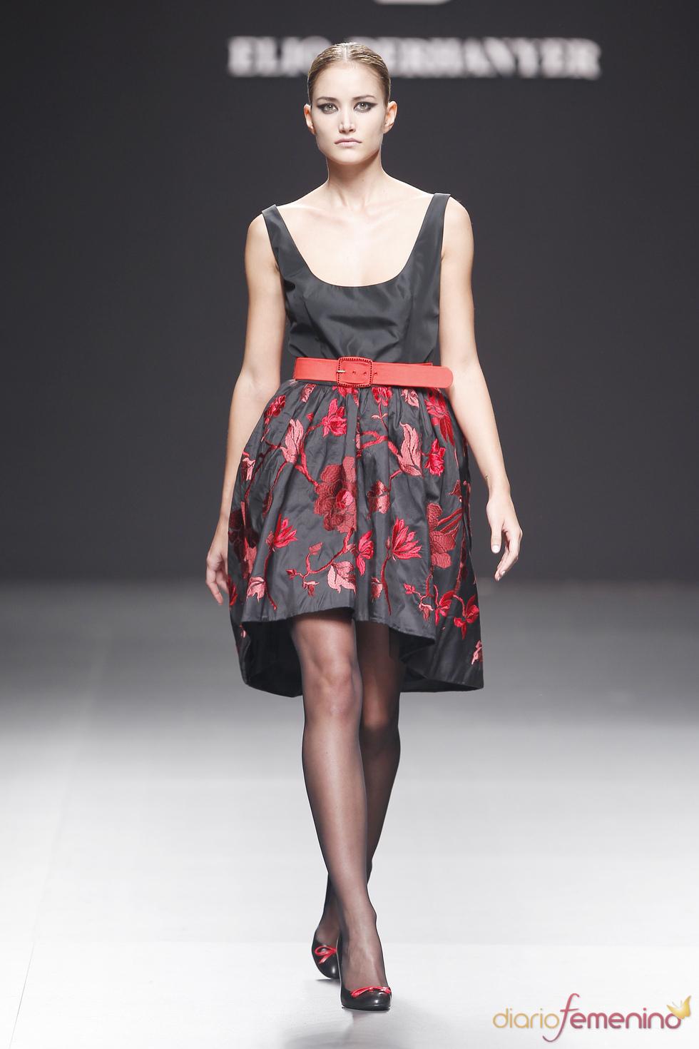 Elio Berhanyer: vestido florido